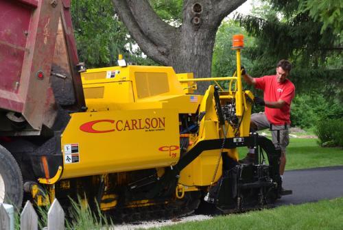 Carlson CP75 Asphalt paver Gold Coast Brisbane