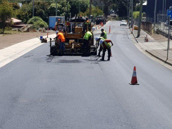 Asphalt road highway contractor gold coast