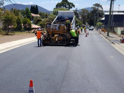 Council Roadwork Asphalting Contractor Gold Coast Brisbane