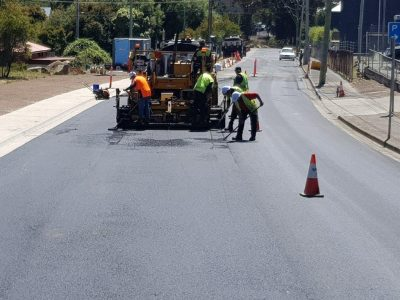 Highway Road Resurfacing Asphalt Gold Coast Brisbane