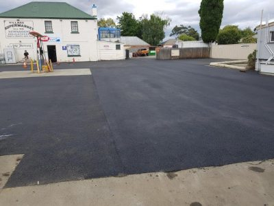 Supermarket Car Park Asphalt surfacing Gold Coast Brisbane