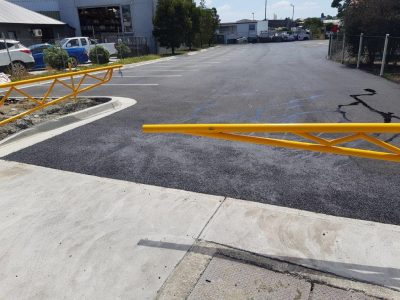 Warehouse Factory Asphalt Roads and Car Park Gold Coast Brisbane