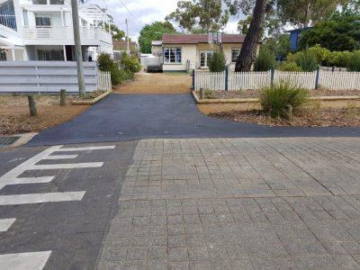 Asphalt drainage channel driveway gold coast brisbane